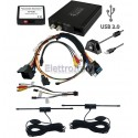 DVBLOGIC2 BMW PROFESSIONAL CCC RICEVITORE DVB-T E PLAYER USB MULTIMEDIALE