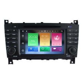 Navigatore Mercedes Classe C W203 Android 9 Octacore