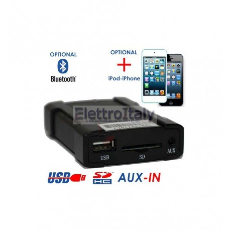 BMW 2 INTERFACCIA USB / SD / AUX XCARLINK