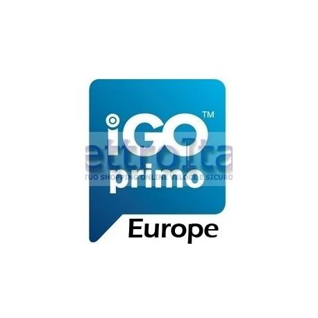 Mappa di navigazione iGo Primo EUROPA