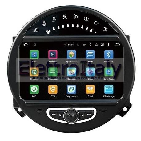 Autoradio Navigatore BMW Mini Cooper Multimediale Android 5.1