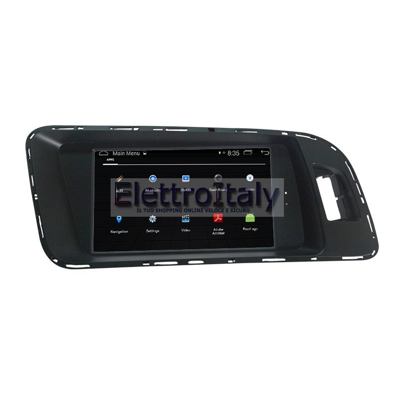 navigatore android gps audi a4 a5 q5 multimediale. Black Bedroom Furniture Sets. Home Design Ideas