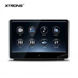 Monitor 12 pollici touchscreen FULLHD HDMI da poggiatesta con DVD Xtrons
