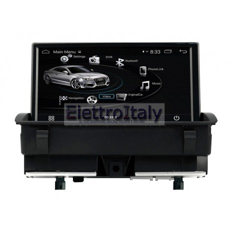 Navigatore Android GPS Audi Q3 Multimediale