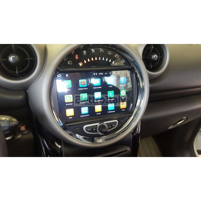 Autoradio Navigatore Bmw Mini Cooper Multimediale Android 5 1
