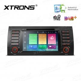 Autoradio Navigatore Bmw Serie E53 X5 Android 6.0 Octacore Xtrons