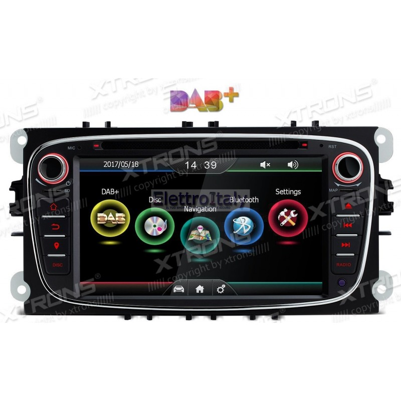 autoradio navigatore gps per ford focus kuga c max. Black Bedroom Furniture Sets. Home Design Ideas