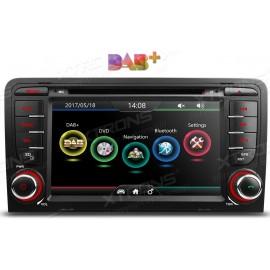 Navigatore Autoradio Audi A3 Multimediale DAB XtronS
