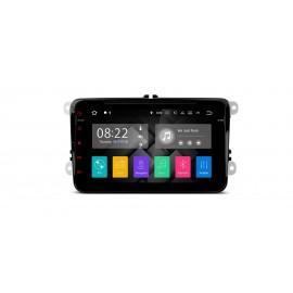 Navigatore Volkswagen Skoda Seat 8 Pollici Quadcore Android 7.1 WiFi