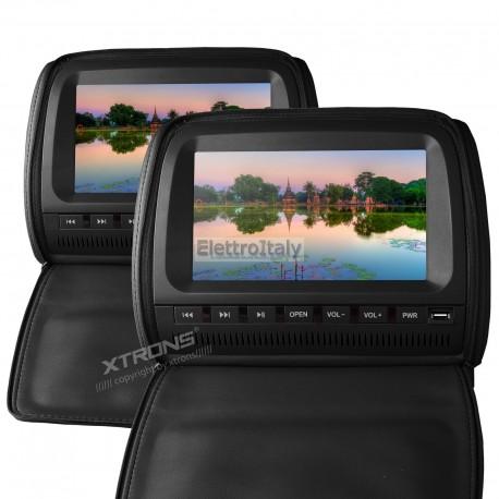 Monitor 9 pollici DVD poggiatesta D905 XTRONS