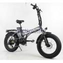 "Fat-Bike 20"" 500W Extreme pieghevole Bicicletta elettrica pedalata assistita"