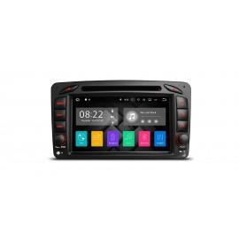 Autoradio Navigatore Mercedes CLK A G C Viano Multimediale Android 7 Quadcore HDMI Xtrons