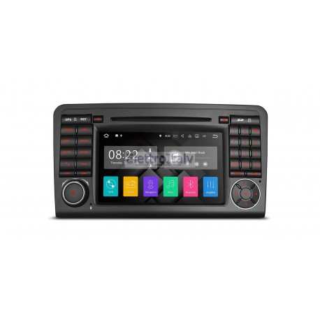 Autoradio Navigatore Mercedes Classe ML W164 Android 7.1 Quadcore HDMI Multimediale Xtrons