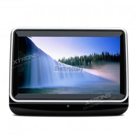Monitor 10 pollici touchscreen FULLHD HDMI con DVD Xtrons