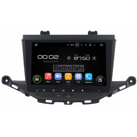Autoradio Navigatore Opel Astra K 10 pollici Android 7 HDMI