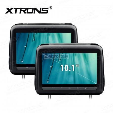 Coppia Monitor 10 pollici DVD Touchscreen poggiatesta HDMI XTRONS