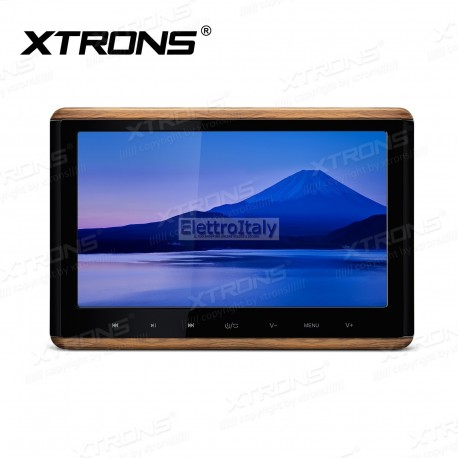 Monitor 10.2 pollici touschreen FULLHD 1080P HDMI da poggiatesta con DVD Xtrons