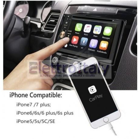 Carplay USB per Iphone e autoradio android