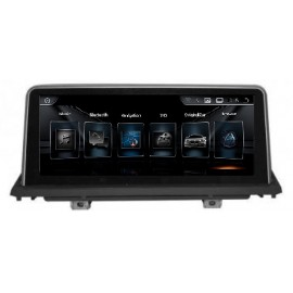 Navigatore BMW X5 X6 CIC 10 pollici Android 8 GPS Multimediale