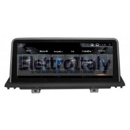Navigatore BMW X5 E70 X6 E71 Android GPS Multimediale