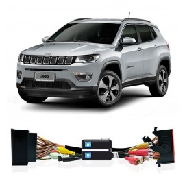 JEEP COMPASS RENEGADE MY2017 UCONNECT 7 E 8,4 INTERFACCIA VIDEO