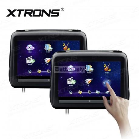 Coppia Monitor 10 pollici Touchscreen DVD poggiatesta HDMI XTRONS