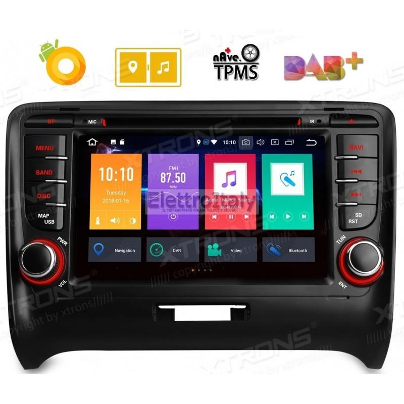 autoradio navigatore audi tt multimediale android 8 octacore. Black Bedroom Furniture Sets. Home Design Ideas