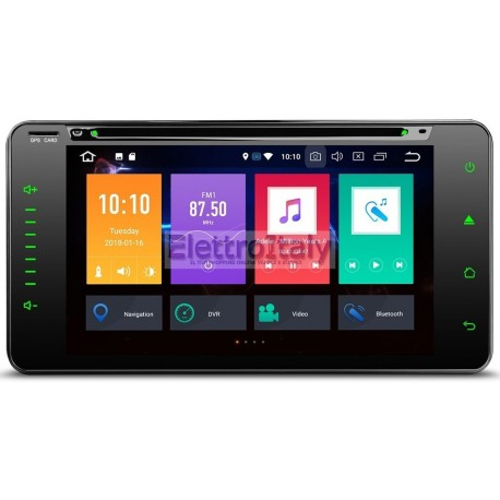 Navigatore Android Toyota Vecchi modelli Octacore 32 Gb