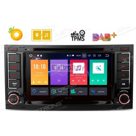 Navigatore Volkswagen Touareg 7 Pollici Octacore Android 8 WiFi
