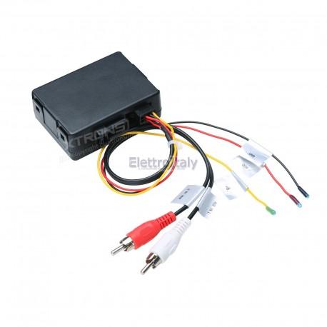 Decoder fibra ottica per Mercedes CLS E SL SLK CLK