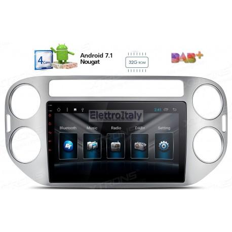Autoradio Navigatore volkswagen Tiguan Android 7