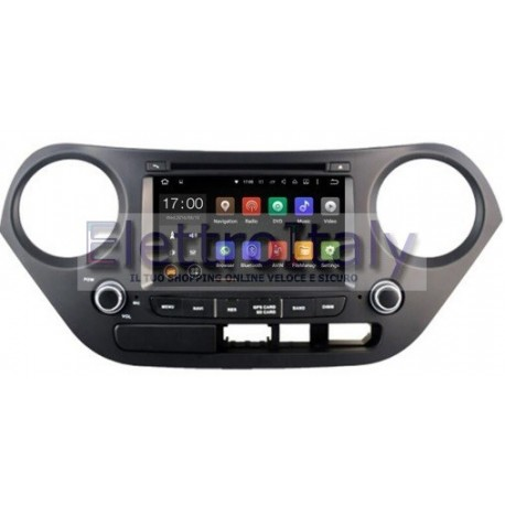 Navigatore Hyundai I10 7 pollici Android 8