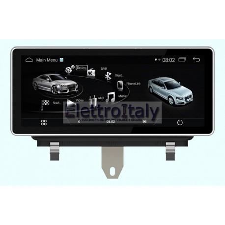 Navigatore Audi Q3 10 pollici Android GPS Multimediale