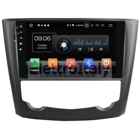 Navigatore Renault Kadjar 9 pollici Android 8 Octacore