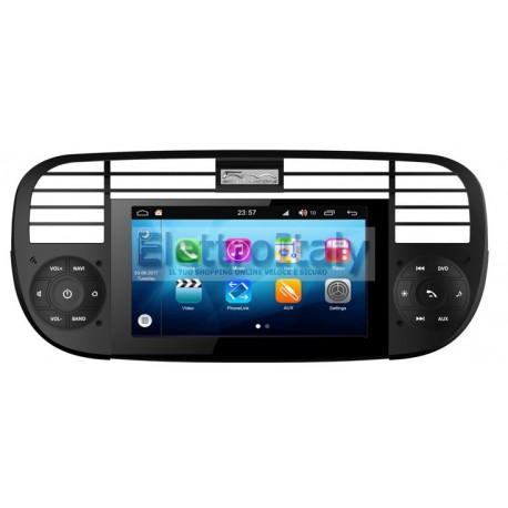 Navigatore Fiat 500 Android 8 Octacore