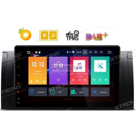 Autoradio Navigatore 9 pollici Bmw Serie E53 E39 X5 Android 8 Octacore Multimediale