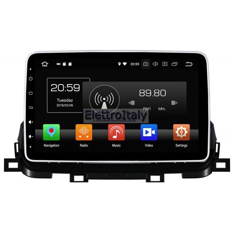 Navigatore Nuova Kia Sportage 2018 10 pollici Android 8 Octacore