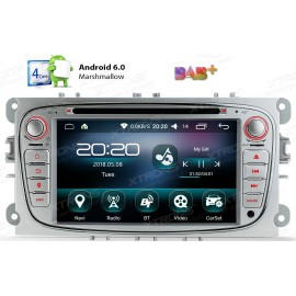 Autoradio Navigatore Ford Focus Mondeo S-max Android 6.0 Multimediale