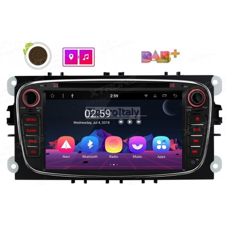 Autoradio Navigatore Ford Focus Mondeo S-max Android 8.1 Octacore Multimediale