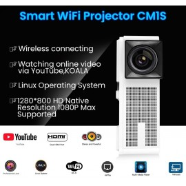 Video proiettore DLP 3D Full HD Android con chip 4K UHD