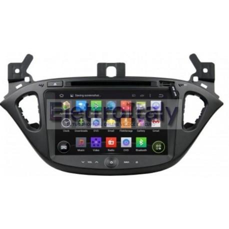Autoradio Navigatore Opel Corsa 8 pollici Android 10