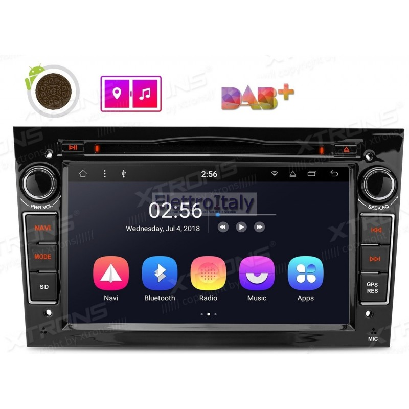 autoradio navigatore opel astra corsa meriva zafira android 81. Black Bedroom Furniture Sets. Home Design Ideas