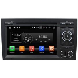 Autoradio Navigatore Audi A4 Multimediale Android Quadcore