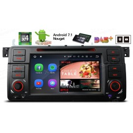 Autoradio Navigatore Bmw Serie E46 Android 7.1 Quadcore Multimediale Xtrons