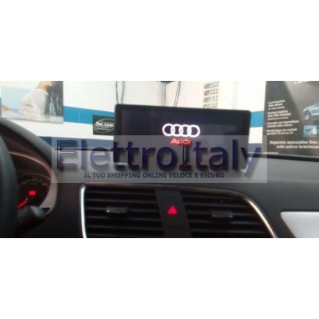 Navigatore Audi Q3 8 pollici Android GPS Multimediale