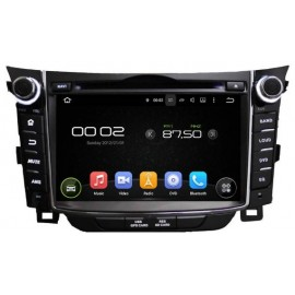 Navigatore Hyundai I30 7 pollici Android Octacore
