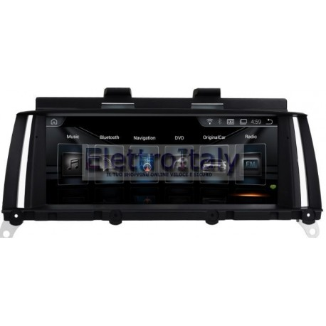Navigatore Android GPS BMW X3 X4 Multimediale