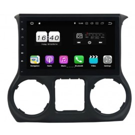 Navigatore Jeep Wrangler 10 pollici Android 8