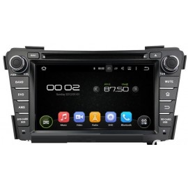 Navigatore Hyundai I40 7 pollici Android 8 Quadcore