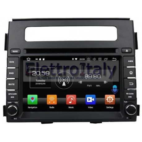 Navigatore Kia Soul Android 8 Octacore